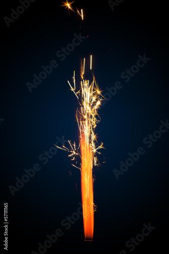 In de dag Vuur / Vlam firework sparkler