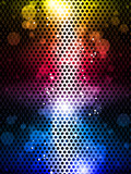 Colorful Rainbow Neon Party Background