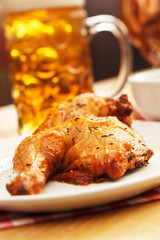 chicken with beer