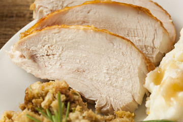 Homemade Sliced Turkey Breast