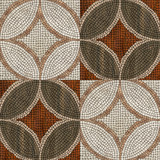 Sardis mosaic turkey - wood mosaic background. (High.res.)