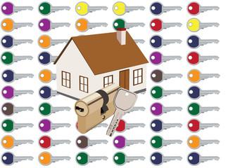 chiave d'abitazione