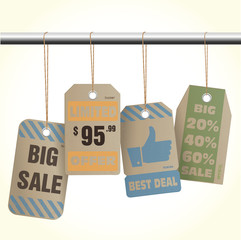 Sale Offer Deal tags style