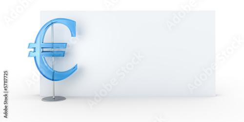 Euro sign background