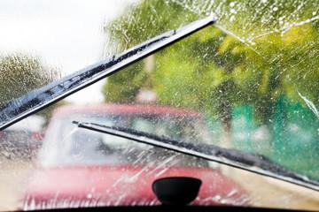 driving in rain