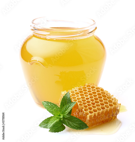 Honey with mint - 57118164