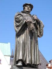 Martin Luther Denkmal Eisleben