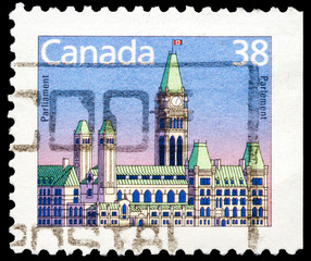 Canadian post stamp