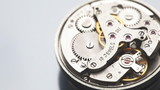 watch mechanism close-up