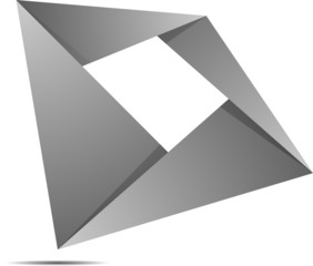Quodragon folded figure