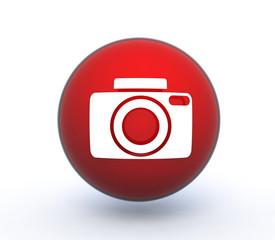 photo sphere icon on white background
