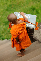 child Buddhist monk