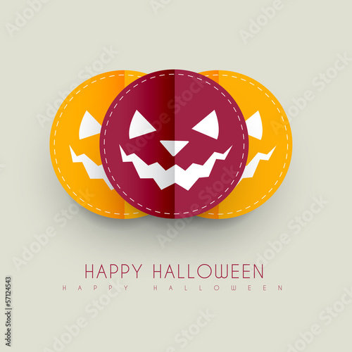 halloween greeting design