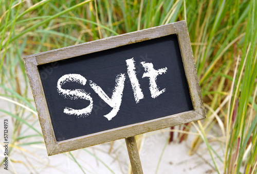 canvas print picture Sylt