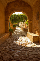 arch in arkadi monastery