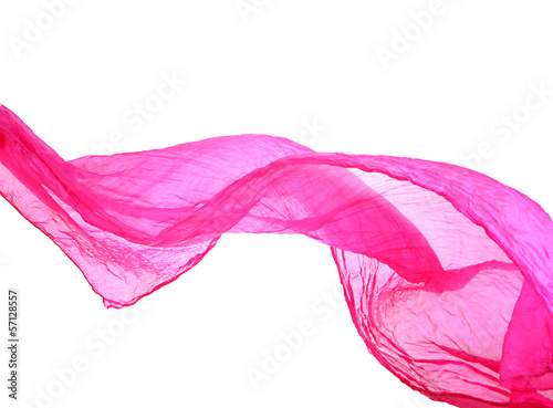 Female scarf isolated on white