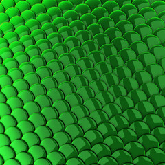 Green scales background