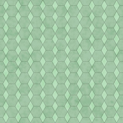 Green Honey Comb Shape Fabric Background