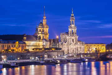 Dresden, Germany on the Elbe River