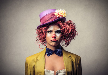 whimsical clown