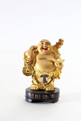 Chinese cheerful Buddha