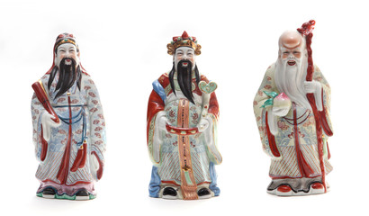 Fu Lu Shou three Chinese Gods