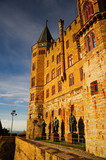 Beautiful Autumn in Hohenzollern Castle and around, Germany