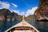 Head of long tail boat in the south of Thailand