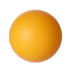 Ping-pong ball isoalted. Orange table tennis ball