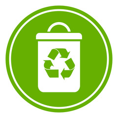 Recycled waste symbol