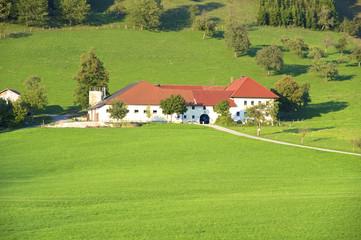 Bauernhof im Ennstal in Großraming in Oberösterreich
