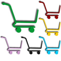 Buy cart Shopping Icon Set