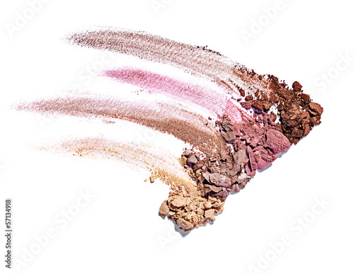 powder brush make up beauty