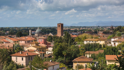 Panorama di Pietrasanta