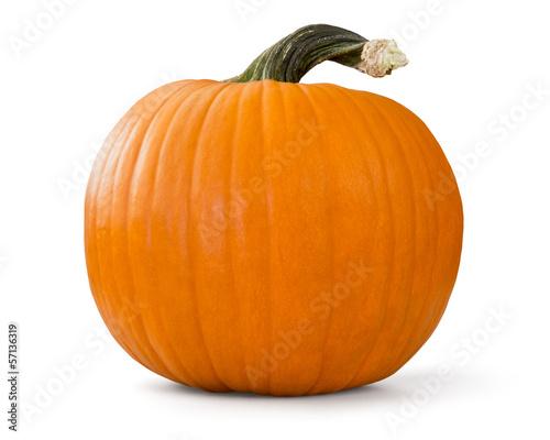 Deurstickers Groenten pumpkin
