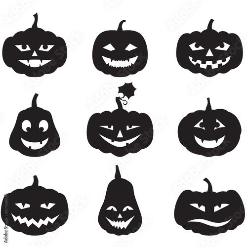 Pumpkins set