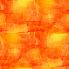 artist seamless orange cubism art texture watercolor background