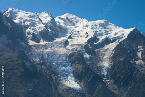 Mont Blanc range from Brevent
