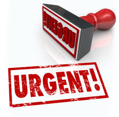 Urgent Stamp Word Immediate Emergency Action Required