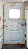 door of military plane inside