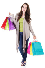 Female shopper