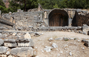Arycanda Ancient City in Antalya, Turkey.