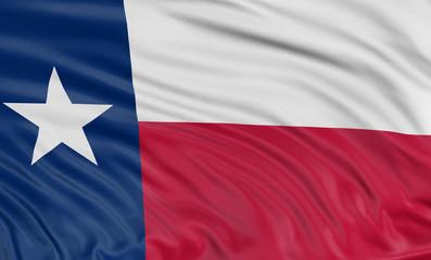 3D Texas Flag