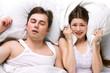 sleep of husband and wife