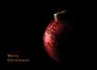 Chrismas ball in the dark