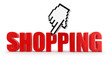 Cursor and Shopping (clipping path included)