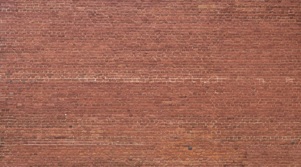 Ancient red brick wall texture