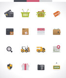 Vector e-commerce icon set