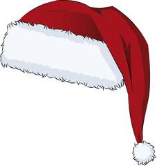 Weihnachtsmannmütze Bommelmütze Zipfelmütze