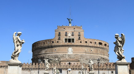 ancient castle in Roma, Italy